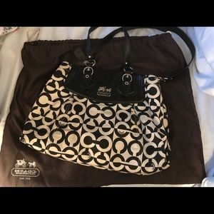 Coach Handbag with dust cover included